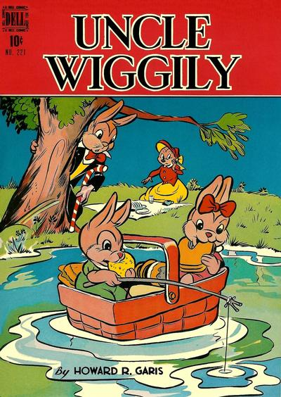 Cover for Four Color (Dell, 1942 series) #221 - Uncle Wiggly