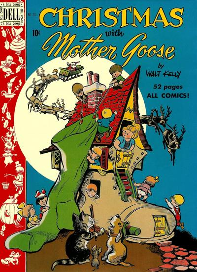 Cover for Four Color (Dell, 1942 series) #253 - Christmas with Mother Goose
