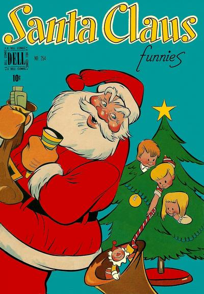 Cover for Four Color (Dell, 1942 series) #254 - Santa Claus Funnies