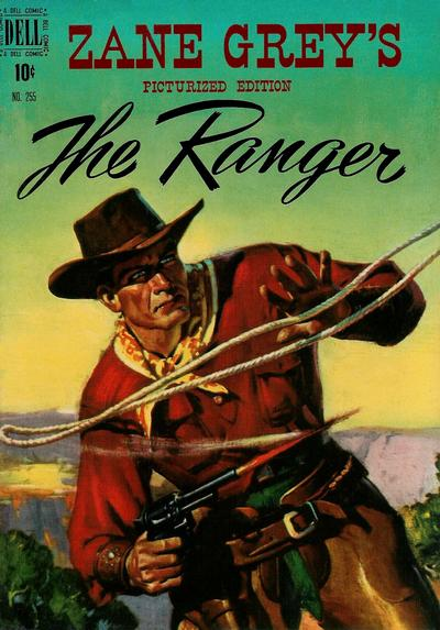 Cover for Four Color (Dell, 1942 series) #255 - Zane Grey's The Ranger
