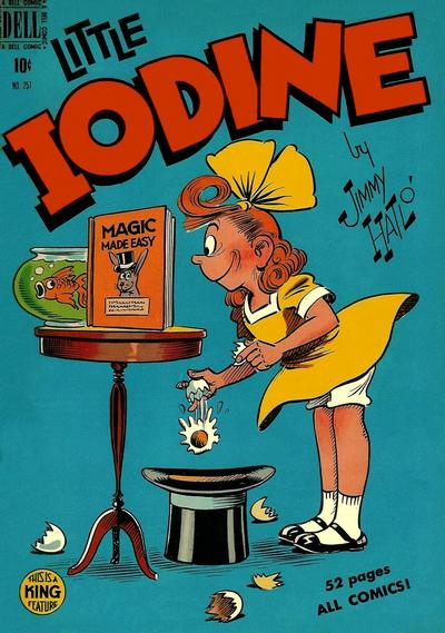 Cover for Four Color (Dell, 1942 series) #257 - Little Iodine