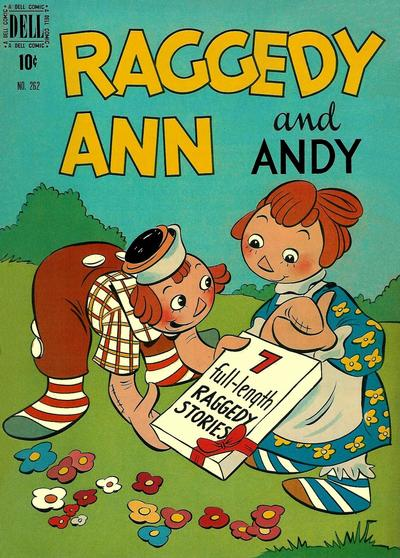 Cover for Four Color (Dell, 1942 series) #262 - Raggedy Ann and Andy