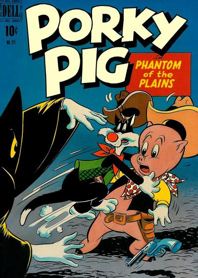 Cover for Four Color (Dell, 1942 series) #271 - Porky Pig in Phantom of the Plains
