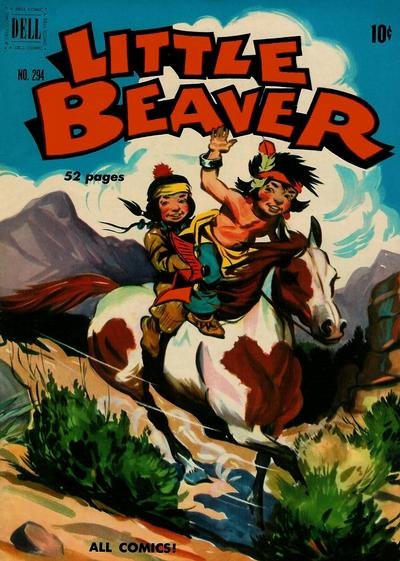 Cover for Four Color (Dell, 1942 series) #294 - Little Beaver