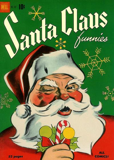 Cover for Four Color (Dell, 1942 series) #302 - Santa Claus Funnies