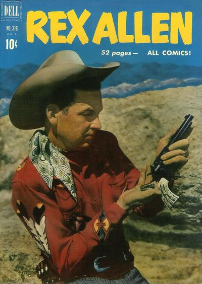 Cover for Four Color (Dell, 1942 series) #316 - Rex Allen