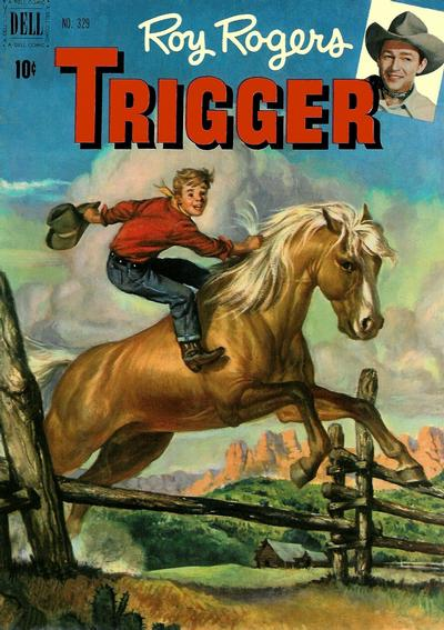 Cover for Four Color (Dell, 1942 series) #329 - Roy Rogers' Trigger