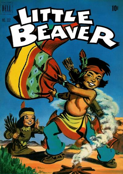 Cover for Four Color (Dell, 1942 series) #332 - Little Beaver
