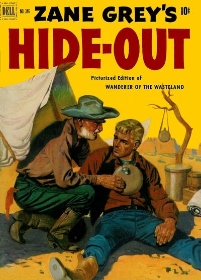 Cover for Four Color (Dell, 1942 series) #346 - Zane Grey's Hideout (Wanderer of the Wasteland)