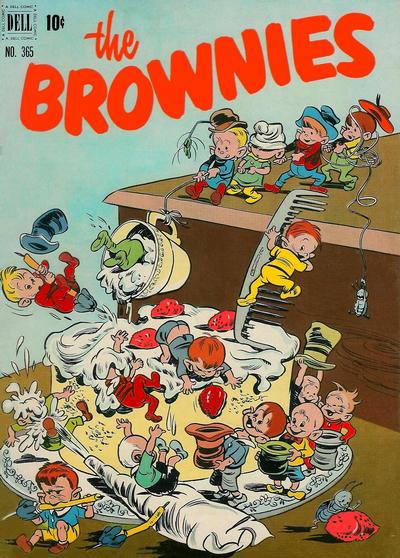 Cover for Four Color (Dell, 1942 series) #365 - The Brownies