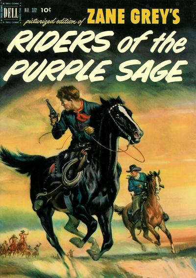 Cover for Four Color (Dell, 1942 series) #372 - Zane Grey's Riders of the Purple Sage