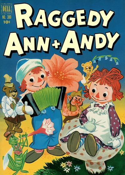 Cover for Four Color (Dell, 1942 series) #380 - Raggedy Ann & Andy