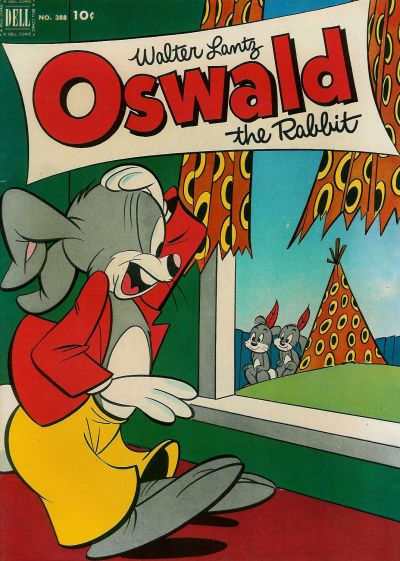 Cover for Four Color (Dell, 1942 series) #388 - Walter Lantz Oswald the Rabbit