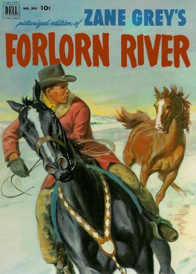 Cover for Four Color (Dell, 1942 series) #395 - Zane Grey's Forlorn River