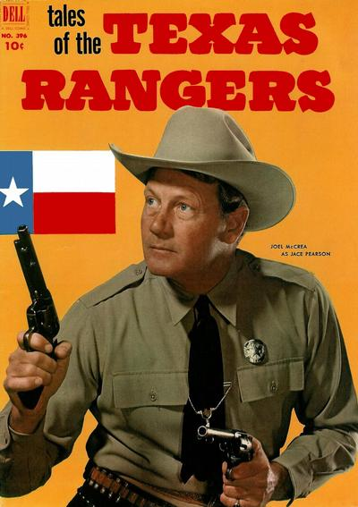 Cover for Four Color (Dell, 1942 series) #396 - Tales of the Texas Rangers