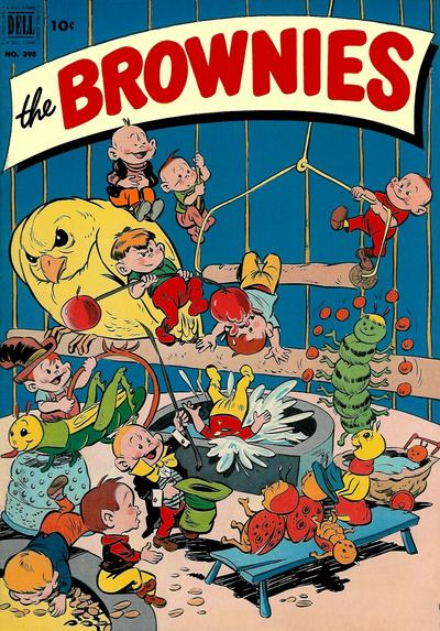 Cover for Four Color (Dell, 1942 series) #398 - The Brownies