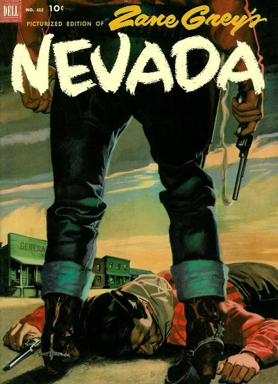 Cover for Four Color (Dell, 1942 series) #412 - Zane Grey's Nevada