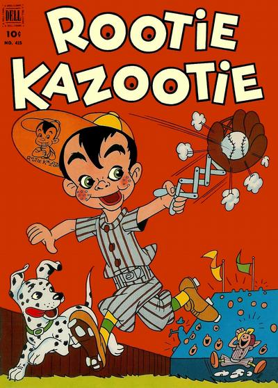 Cover for Four Color (Dell, 1942 series) #415 - Rootie Kazootie