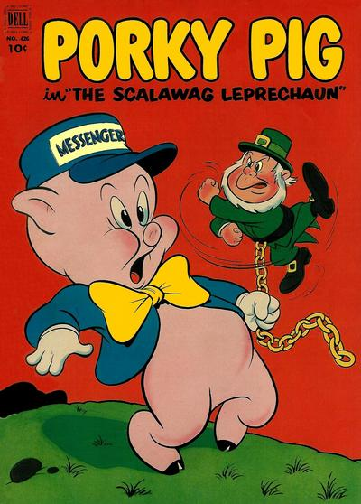 Cover for Four Color (Dell, 1942 series) #426 - Porky Pig in The Scalawag Leprechaun