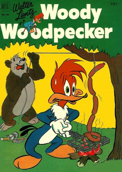 Cover for Four Color (Dell, 1942 series) #431 - Walter Lantz Woody Woodpecker