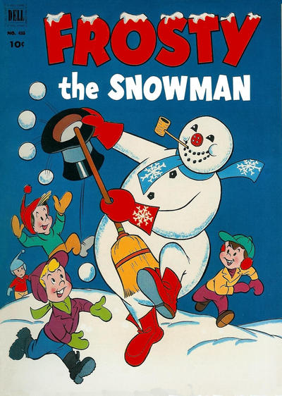 Cover for Four Color (Dell, 1942 series) #435 - Frosty the Snowman
