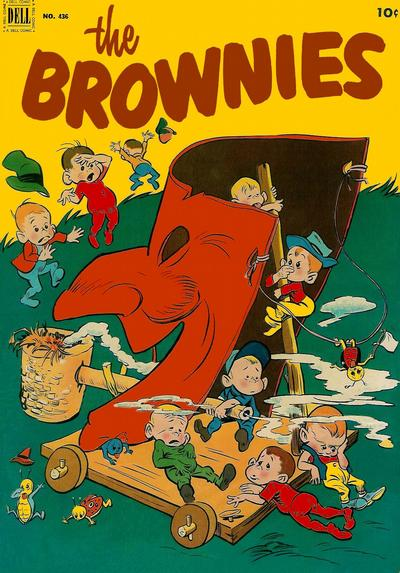 Cover for Four Color (Dell, 1942 series) #436 - The Brownies
