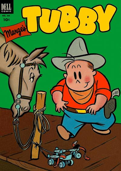 Cover for Four Color (Dell, 1942 series) #444 - Marge's Tubby