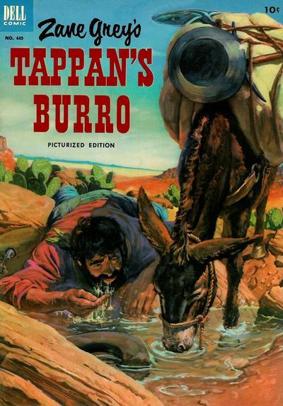 Cover for Four Color (Dell, 1942 series) #449 - Zane Grey's Tappan's Burro