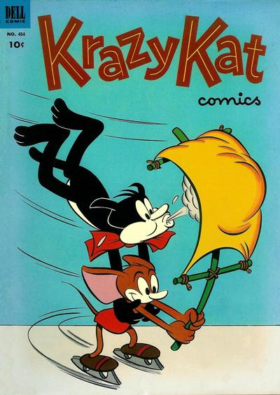 Cover for Four Color (Dell, 1942 series) #454 - Krazy Kat Comics