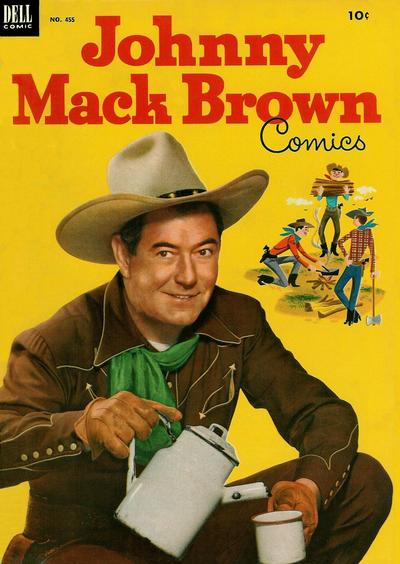 Cover for Four Color (Dell, 1942 series) #455 - Johnny Mack Brown Comics