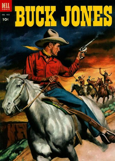 Cover for Four Color (Dell, 1942 series) #460 - Buck Jones