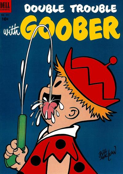 Cover for Four Color (Dell, 1942 series) #471 - Double Trouble with Goober