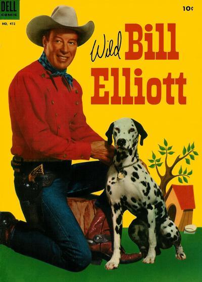 Cover for Four Color (Dell, 1942 series) #472 - Wild Bill Elliott