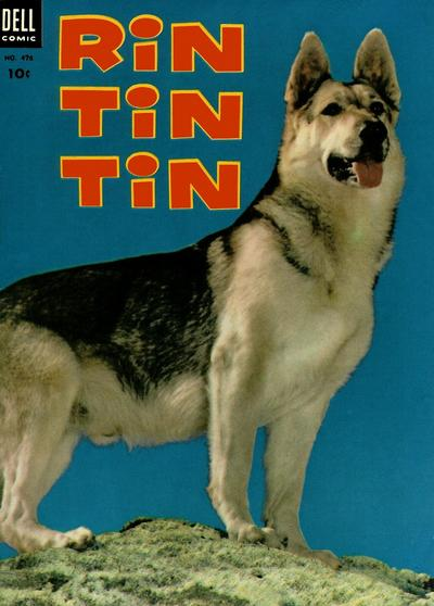 Cover for Four Color (Dell, 1942 series) #476 - Rin Tin Tin