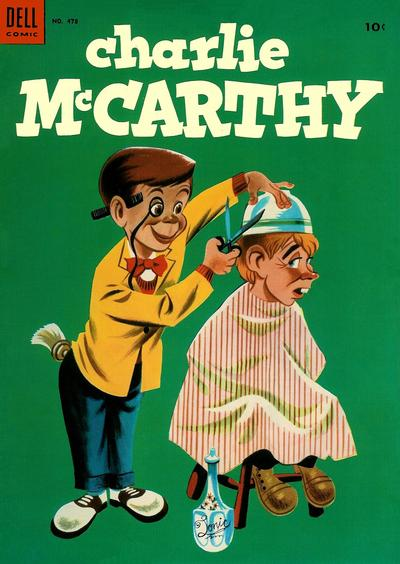 Cover for Four Color (Dell, 1942 series) #478 - Charlie McCarthy