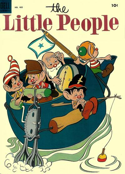 Cover for Four Color (Dell, 1942 series) #485 - The Little People