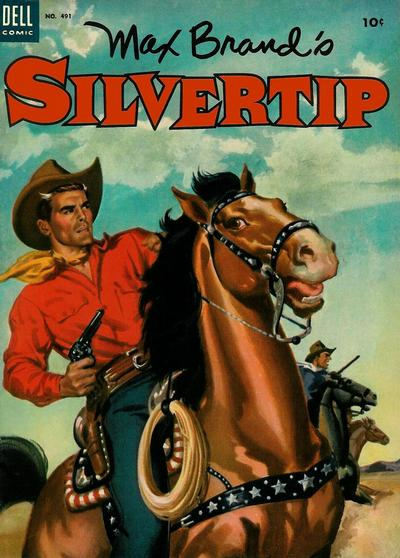 Cover for Four Color (Dell, 1942 series) #491 - Max Brand's Silvertip