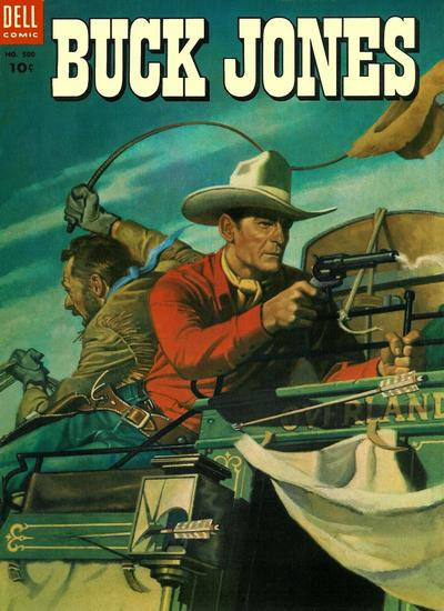 Cover for Four Color (Dell, 1942 series) #500 - Buck Jones