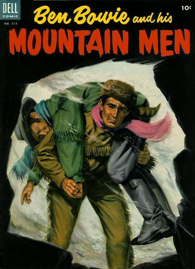 Cover for Four Color (Dell, 1942 series) #513 - Ben Bowie and His Mountain Men