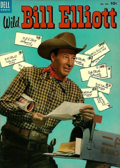 Cover for Four Color (Dell, 1942 series) #520 - Wild Bill Elliott