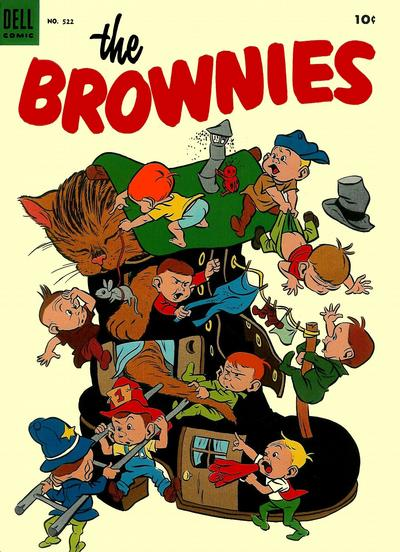 Cover for Four Color (Dell, 1942 series) #522 - The Brownies