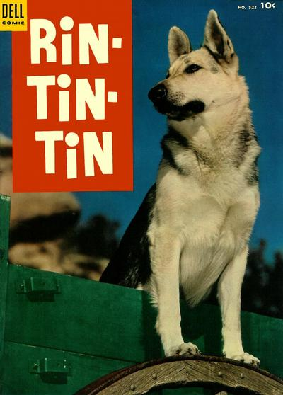 Cover for Four Color (Dell, 1942 series) #523 - Rin-Tin-Tin