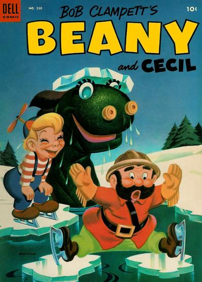 Cover for Four Color (Dell, 1942 series) #530 - Bob Clampett's Beany and Cecil