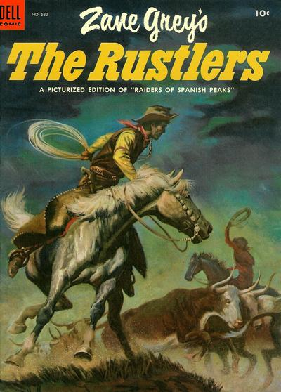Cover for Four Color (Dell, 1942 series) #532 - Zane Grey's The Rustlers