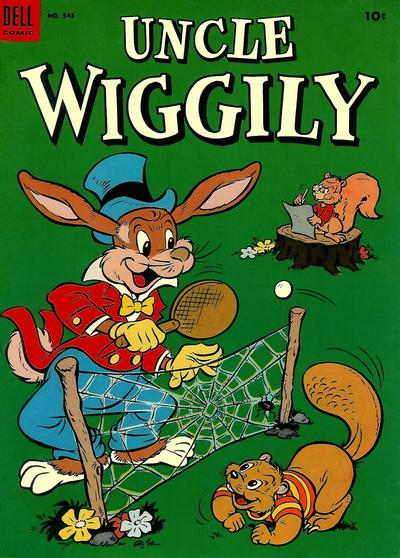 Cover for Four Color (Dell, 1942 series) #543 - Uncle Wiggily