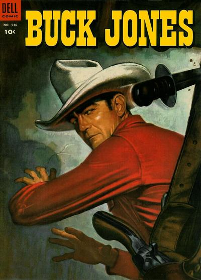 Cover for Four Color (Dell, 1942 series) #546 - Buck Jones