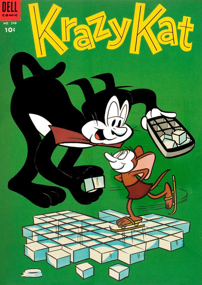 Cover for Four Color (Dell, 1942 series) #548 - Krazy Kat
