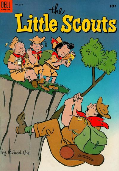 Cover for Four Color (Dell, 1942 series) #550 - The Little Scouts