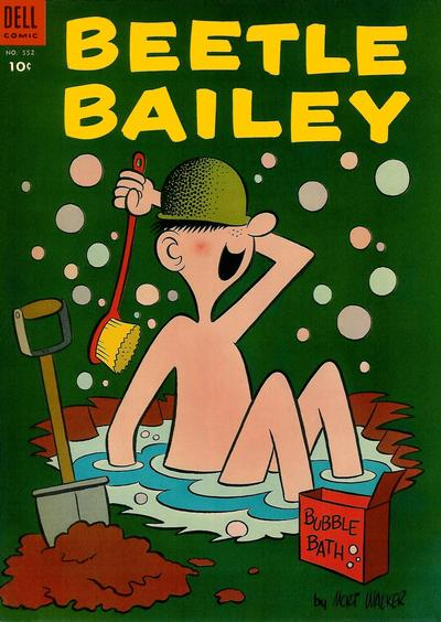 Cover for Four Color (Dell, 1942 series) #552 - Beetle Bailey
