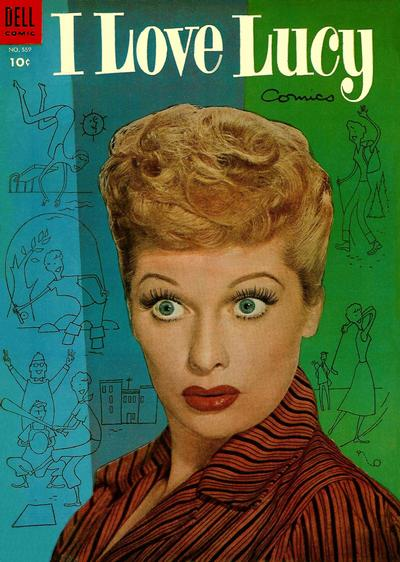 Cover for Four Color (Dell, 1942 series) #559 - I Love Lucy